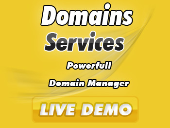 Bargain domain registration services